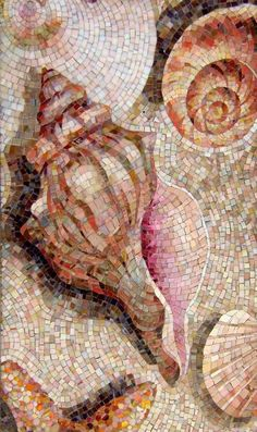 Мозаичное панно