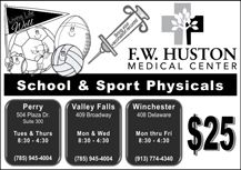 School and Sport Physicals!