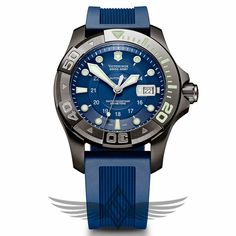 Victorinox Swiss Army Dive Master 500 Mechanical Blue Dial Automatic Watch 241425. OC Watch Company is an Authorized Swiss Army Retailer in Walnut Creek CA.