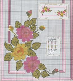 Knit and Crochet Free Pattern Crochet Carpet, Christmas Cross, Cross Stitch Patterns, Diy And Crafts, Projects To Try, Tapestry, Kids Rugs, Canvas, Floral