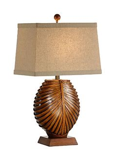 INTRICATE BAMBOO SPLITS LAMP  Wildwood Lamps - Tommy Bahama Collection