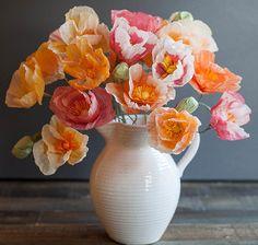 Popping Paper Poppies DIY Wedding Decoration | AllFreeDIYWeddings.com