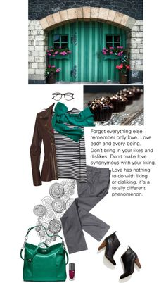 """""""Forget everything else: remember only love."""" by octa ❤ liked on Polyvore"""