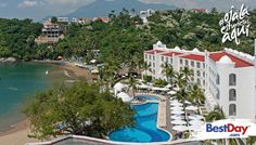 El Tesoro Manzanillo es un hotel con una excelente playa privada, cuenta con 331 habitaciones con alojamiento de lujo, modernas amenidades, Room Service, spa, piscina, discoteca, área de juegos infantiles y amplias instalaciones para eventos, podrás combinar los negocios con un toque de diversión y placer en tu próximo viaje a Manzanillo. #OjalaEstuvierasAqui