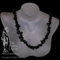 Onyx Chip Necklace