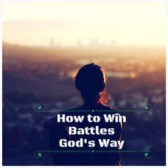 In our Christian life, we all know that there is a spiritual warfare we have to face every day. While the battle is the LORD's, we have to inculcate in our hearts and minds that we are God's spirit...