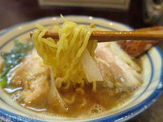 行列、煮干し、魚粉ラーメン 烈志笑魚油 麺香房 三く@大阪市福島|夫婦で食べ歩き+2