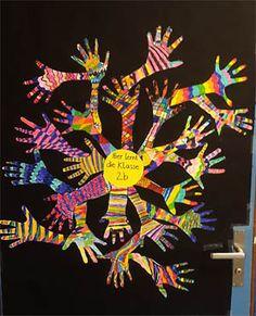 Beispiel Klassenzimmer Hände, Klasse 1/2 - Schweiz