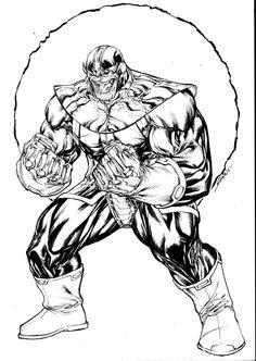 Thanos - sept8th2014 by SpiderGuile.deviantart.com on @DeviantArt