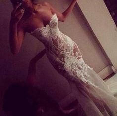That dress though....