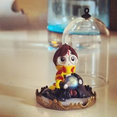 Harry Potte and Philosopher's stone #harrypotter #fimo #polymerclay #handmade  www.frypperi.it - www.facebook.com/frypperi