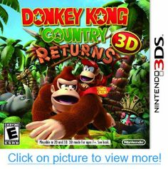 Donkey Kong Country Returns for Nintendo Brand New! for Like the Donkey Kong Country Returns for Nintendo Brand New! Donkey Kong Country Returns, Wii, Nintendo 3ds Games, Nintendo Switch, Playstation, Xbox 360, Diddy Kong, 3d Mode, Thing 1