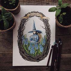 Poetic Color Pencil Drawings – Fubiz Media