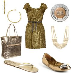 Beautiful #gold outfit combination! #kmggold #fashion
