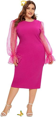 Women's Plus Size Elegant Mesh Contrast Pearl Beading Sleeve Stretchy Bodycon Pencil Dress Womens Plus Size Elegant Mesh Contrast Pearl Beading Sleeve Stretchy Dress. Women's Plus Size Tops Striped Raglan Tee Shirts Casual Tunics Blouses New Curvy And Plus Size Women Outfit For Summer 2020. plus size clothing and all trending fashions for chubby and curvy girls. best outfits for plus size | plus sized fashion | style plus size | plus size outfits | womens fashion plus size | outfits plus… Plus Size Jeans, Plus Size Tops, Plus Size Women, Best Tanning Oil, Cute Summer Outfits, Cool Outfits, Raglan Tee, Tunic Blouse, Night Outfits