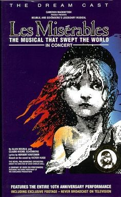 Les Miserables - The Dream Cast in Concert VHS
