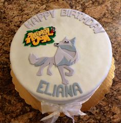 My daughter special request Animal Jam cake Girls birthday party