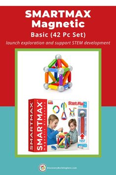 Discovery Building Sets feature SmartMax® magnetic building toys that are high-quality, safe, and colorful. These STEM toys for toddlers introduce block play and exploratory play concepts. By adding powerful magnets to standard construction sets, magnetic toys allow children to build in endless ways. Give your toddler a set to launch exploration and support STEM development. #DiscoveryBuildingSets #STEMtoysfortoddlers #magnetictoysfortoddlers #magnetictoys #magneticbuildingtoys Building Toys For Toddlers, Blocks For Toddlers, Magnetic Toys, Block Play, Strong Family, Family Bonding, Interactive Toys, Language Development, 2 Year Olds