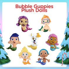 Cuddle up with a Bubble Guppies plush doll!