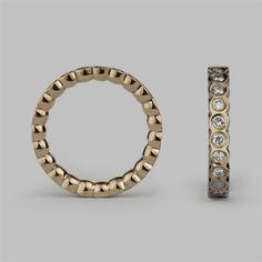 Daisy Eternity Ring.