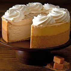 DULCE de LECHE CARAMEL CHEESECAKE Cheesecake Factory Copycat Recipe Serves 12 Crust: 28 golden oreos, crushed 1/4 cup butter, me...