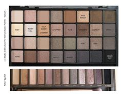 Great Dupe of UD Naked2. e.l.f. Natural pallet. 32 colors and I think it even has the first naked pallet in it as well!