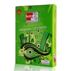 Price Rs.1,935/-Buy BILT #Green A4 70 GSM Premium Copy Paper White Box of 10 Reams Online in India