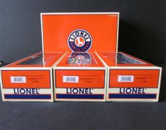 New? LIONEL Norfolk Southern Rotary Bathtub 3 Pack 6-17445,6-17444,6-17446