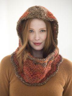 Ripped Hooded Cowl (Crochet)  FREE PATTERN