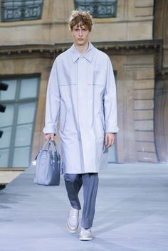 A look from the Berluti Spring 2016 Menswear collection.