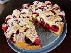 Backen - Kochen & Genießen: Pflaumenkuchen nach Oma Mia