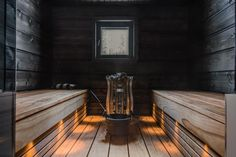 Good sauna designs and plans make your sauna project perfect. When you decide to design your own sauna, it is important to consider several factors. Heaters are the heart and soul of any sauna. Sauna Lights, Wood Burning Heaters, Finnish Sauna, Swedish Sauna, Outdoor Sauna, Sauna Design, Sauna Room, Spa Rooms, Infrared Sauna