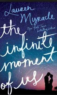 The Infinite Moment of Us by Lauren Myracle - I don't remember YA books being so explicit about sex 15 years ago. But, it was well written with a really interesting story. And, young love feels exactly like the author describes. Ya Books, Good Books, Books To Read, Reading Lists, Book Lists, Reading Den, Beautiful Book Covers, Books For Teens, Teen Books