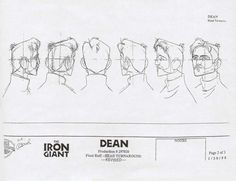 Living Lines Library: The Iron Giant - Character: Dean McCoppin