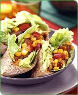 Tangy Barbecue Pitas