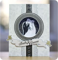 white shimmer cardstock, divine epoxy stickers, divine wedding day additions