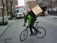 5 myths about nyc bicycle messengers - velojoy