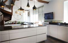 Cucine Moderne Con isola Centrale Bellissimo Cucina In Rovere ...
