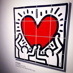 Keith Haring ceramic tiles by Ascot. Pad. 25 #Cersaie2014 ...