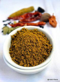 Indian Khana: Homemade Kitchen King Masala Powder Recipe