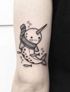 Hugo Tattooer narwhal