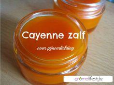 Cayenne zalf, geeft verlichting bij spierpijn