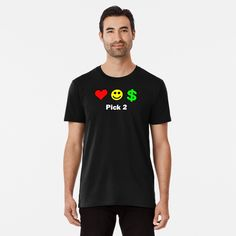 Love, Happiness, Money... Pick 2. Animal Silhouette, Comic Styles, High Contrast, Wash Bags, Tshirt Colors, Looks Great, Fitness Models, Surfing, Shirt Designs