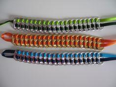 Cómo hacer pulseras de chapas: fotos de distintos modelos