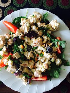 Tuscan grilled chicken salad recipe