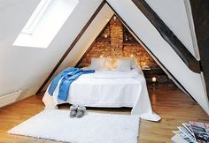 Attic conversion in case our house gets too small