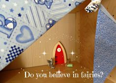 The Irish Fairy Door Company ♥ Do you believe in fairies? Why not become enchanted by the magic and read all about my baby boy's fairy friend Mossie Grass who now lives on the bookshelf in his nursery thanks to the Irish Fairy Door Company - http://www.dollydowsie.com/2013/12/the-irish-fairy-door-company.html <3