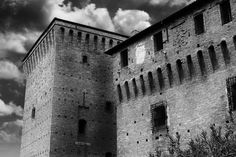Sky Castle by Andrea Di Mauro on 500px #beauty #black and white #blackandwhite #bw #castle #cesena #clouds #d60 #details #exploration #exposure #hdr #italia #italy #nature #nik #nikkor #nikon #old #photo #photographer #photography #photoshoot #photoshop #prospective #beautiful #nice