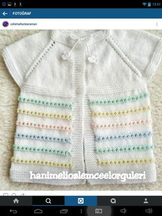 Knitted Baby Clothes, Baby Vest, Knit Vest, Kids And Parenting, Baby Knitting, My Favorite Things, Crochet, Sweaters, Fashion