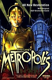 Matroplis is a German expressionist epic science-fiction film made in 1927 and directed by Fritz Lang. He was born on December in Vienna, Austria. Fritz Lang died on August Beverly Hills, CA. Metropolis Film, Metropolis Poster, Metropolis Fritz Lang, Original Movie Posters, Movie Poster Art, Film Posters, Cinema Posters, Tv Movie, Sci Fi Movies